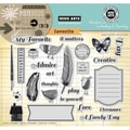 Hero Arts® In Cardmaking & Journaling 8in. x 6in. Cling Rubber Stamp, My Favorite