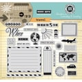 Hero Arts® In Cardmaking & Journaling 8in. x 6in. Cling Rubber Stamp, Travel