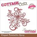 CottageCutz® Elites 3 1/2in. x 3 1/2in. American Steel Die, Elegant Poinsettia Spray