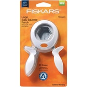 Fiskars® Squeeze Punch, Large Hexagon, 1 1/2""