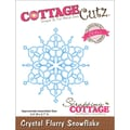 CottageCutz® Elites 2.7in. x 2.4in. Thin Metal Die, Crystal Flurry Snowflake