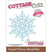 "CottageCutz® Elites 2.7"" x 2.4"" Thin Metal Die, Crystal Flurry Snowflake"