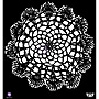 Prima Marketing™ 12 x 12 Elementals Stencil, Doily