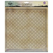 "Prima Marketing™ 12"" x 12"" Elementals Stencil, Scales"
