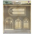 Prima Marketing™ 12in. x 12in. Elementals Stencil, Windows