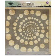 "Prima Marketing™ 12"" x 12"" Elementals Stencil, Spiral"