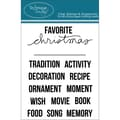 Technique Tuesday® 3in. x 4in. Clear Stamp, Christmas Fill-Ins