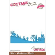"CottageCutz® Elites 2"" x 5 1/2"" Thin Metal Die, Winter Wonderland Border"