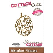 "CottageCutz® Elites 1.8"" x 1.4"" Thin Metal Die, Winterland Pinecone"