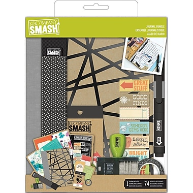 K&Company SMASH Couture Journal Folio Bundle, 40 Pages