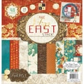 Diecuts With A View® Far East 2 Paper Stack 12in. x 12in., 48 Sheets