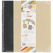 Simple Stories Snap Binder, 6 x 8, Black