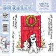 "Barkley EZMount 4 3/4"" x 4 3/4"" Christmas Cling Stamp Set, Home For Christmas"