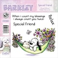 Barkley EZMount 4 3/4in. x 4 3/4in. Everyday Cling Stamp Set, Special Friend