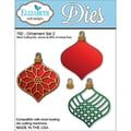 Elizabeth Craft Designs 5.7in. x 2in. Steel Cutting Die, Ornament Set 2