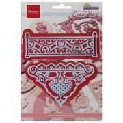 "Ecstasy Crafts® Marianne Designs Collectables 7 1/2"" x 5 1/4"" Die, Petra's Fence"