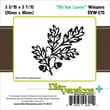Die-Versions® Whispers 3.562in. x 3.437in. Die, Old Oak Leaves