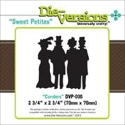 """Die-Versions® Sweet Petites 2 3/4"""" x 2 3/4"""" Die, Carolers"""