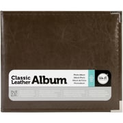 We R Memory Keepers™ Classic Leather 3-Ring Photo Album, 8 x 8, Dark Chocolate