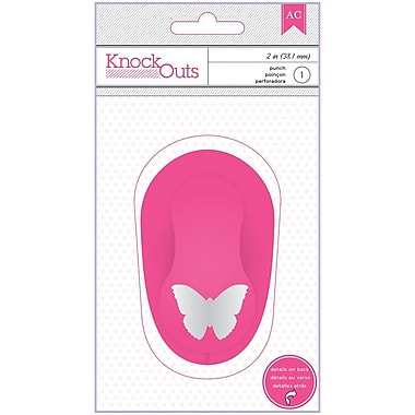 American Crafts™ Knock Outs Punch, Butterfly, 2