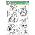 Penny Black® 5in. x 6 1/2in. Clear Stamp Sheet, Halloween Critters
