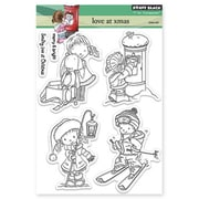 Penny Black® 5 x 6 1/2 Clear Stamp Sheet, Love At Christmas