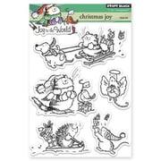 "Penny Black® 5"" x 6 1/2"" Clear Stamp Sheet, Christmas Joy"
