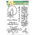 Penny Black® 5in. x 6 1/2in. Clear Stamp Sheet, Christmas Wishes