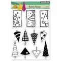 Penny Black® 5in. x 6 1/2in. Clear Stamp Sheet, Festive Forest