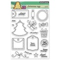 Penny Black® 5in. x 6 1/2in. Clear Stamp Sheet, Christmas Tags
