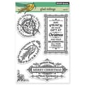 Penny Black® 5in. x 7 1/2in. Clear Stamp Sheet, Glad Tidings
