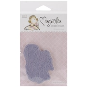 """Magnolia 3 3/4"""" x 6 1/2"""" Special Moments Cling Rubber Stamp, Tilda Binding Flowers"""
