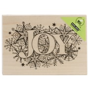 "Hero Arts® 3"" x 4"" Wood Mounted Rubber Stamp, Joy Burst"