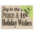 Hero Arts® 2in. x 2 3/4in. Wood Mounted Rubber Stamp, Peace & Love