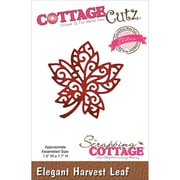 "CottageCutz® Elites 1.7"" x 1.5"" Thin Metal Die, Elegant Harvest Leaf"