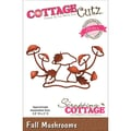 CottageCutz® Elites 2in. x 3.6in. Thin Metal Die, Fall Mushrooms