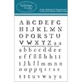 Technique Tuesday® 3in. x 4in. Clear Stamp, Williamsburg Alphabet Small