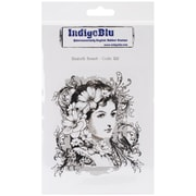"IndigoBlu 7"" x 4 3/4"" Mounted Cling Rubber Stamp, Elizabeth Bennet"