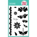 Avery Elle 4in. x 6in. Clear Photopolymer Stamp Set, Blossoms and Blooms