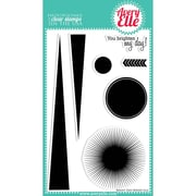 "Avery Elle 4"" x 6"" Clear Photopolymer Stamp Set, Bright Days"