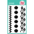 Avery Elle 4in. x 6in. Clear Photopolymer Stamp Set, Ikat Additions