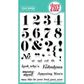Avery Elle 4in. x 6in. Clear Photopolymer Stamp Set, Count On It