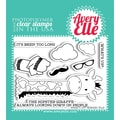 Avery Elle 4in. x 3in. Clear Photopolymer Stamp Set, What's Up