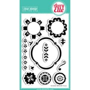 Avery Elle 4 x 6 Clear Photopolymer Stamp Set, Suzani