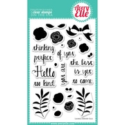 "Avery Elle 4"" x 6"" Clear Photopolymer Stamp Set, Laurels"