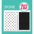 Avery Elle 4in. x 3in. Clear Photopolymer Stamp Set, Texture Tiles Be Cute