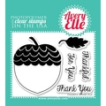 Avery Elle 4in. x 3in. Clear Photopolymer Stamp Set, Thankful