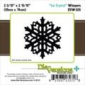 Die-Versions® Whispers 2.562in. x 2.312in. Die, Ice Crystals