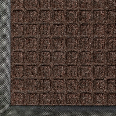 Andersen Waterhog Classic Polypropylene Indoor Floor Mat, 4' x 20', Dark Brown with Cleated Backing