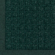 "Andersen Waterhog Fashion Polypropylene Cleated Backing Indoor Mat 60"" x 36"", Green"